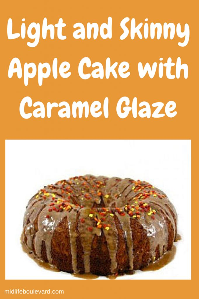 shared my Light and Skinny Apple Cake with Caramel Glaze ...