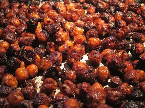 ... 4808 Salty, Sweet, and Crunchy Pumpkin Spiced Roasted Garbanzo Beans