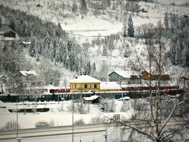 Al Norway  City pictures : Railway station Ål, Norway | Trains and Railway stations | Pinterest