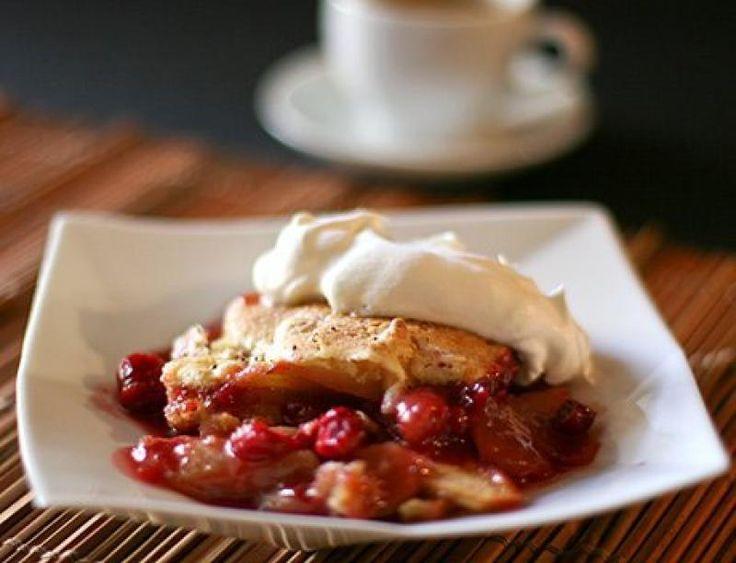 Cranberry Cobbler Recipe from Devilish Desserts