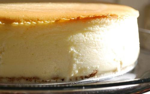 Goat Cheese-Lemon Cheesecake Recipe — Dishmaps