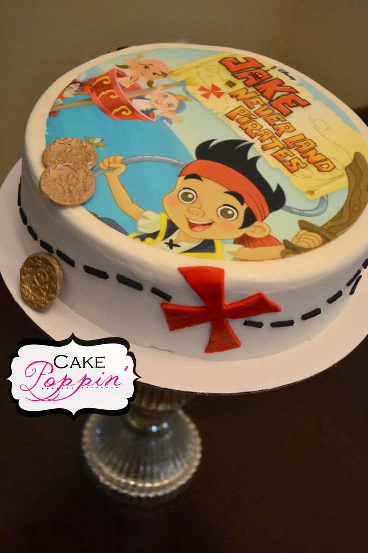 jake and the neverland pirates tiered cake - photo #14