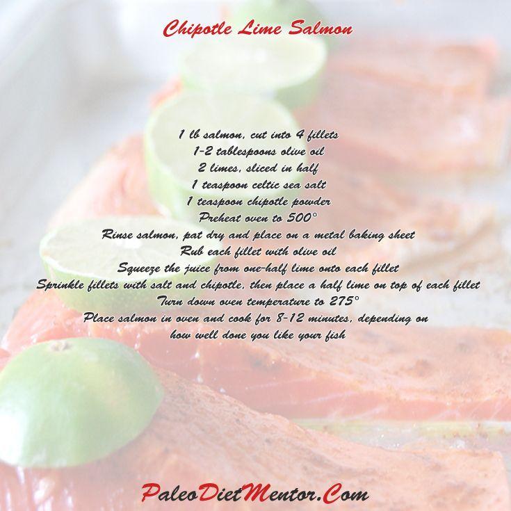 Chipotle Lime Salmon | Doc. Ozz | Pinterest