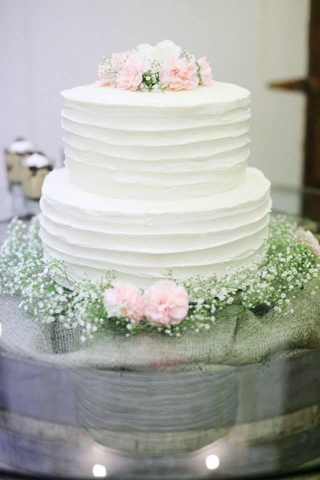 Simple Cake Design Pinterest : Simple Wedding Cake Cake ideas Pinterest