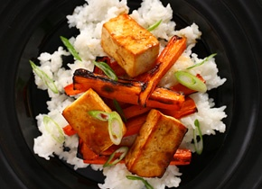 Basic Asian Broiled Tofu - will try it without rice ;) | Foodie Stuff ...