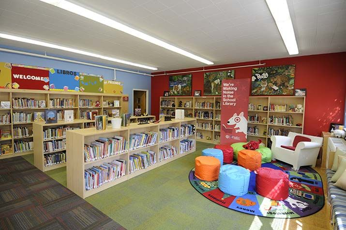 Cowell Elementary Office Furniture School Library Designs Pinte