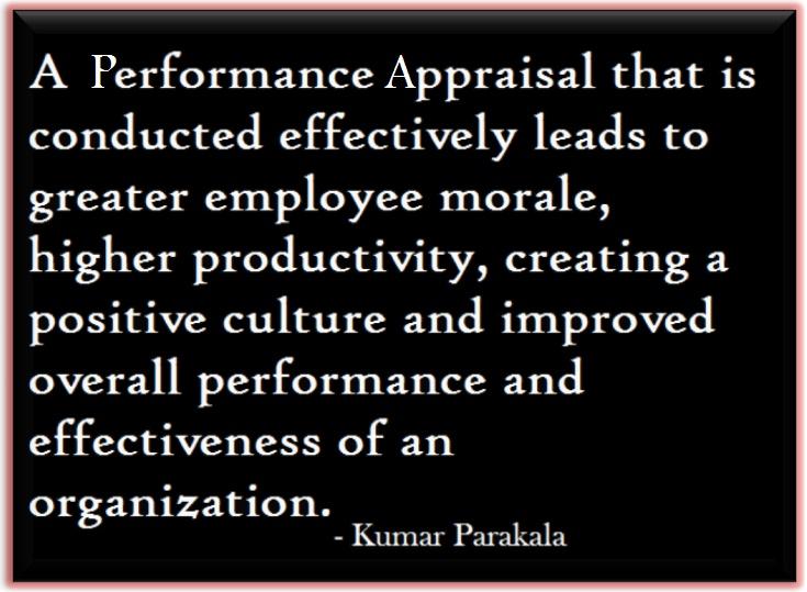 Performance Appraisal: Performance Appraisal Quotes