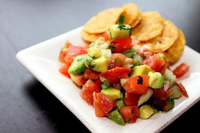 The Comfort of Cooking » Avocado Pico de Gallo