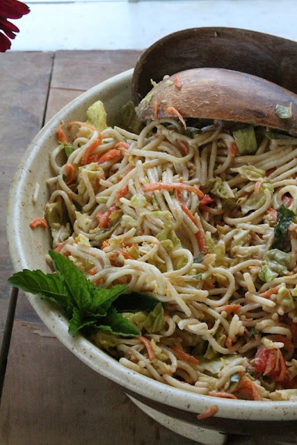 Asian Noodle Salad   The Sweet Life   Recipes - Salads   Pinterest