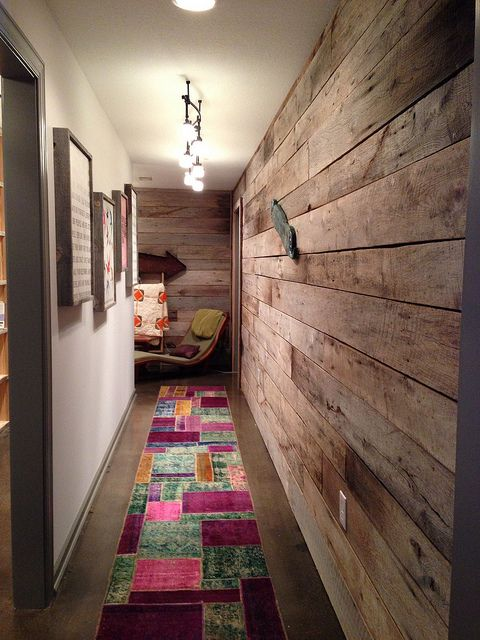 Barn Wood Accent Wall Living Room Pinterest
