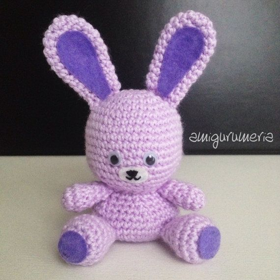 Diy Amigurumi Animals : DIY Bunny Rabbit Amigurumi Crochet PDF Baby Animal Easy ...