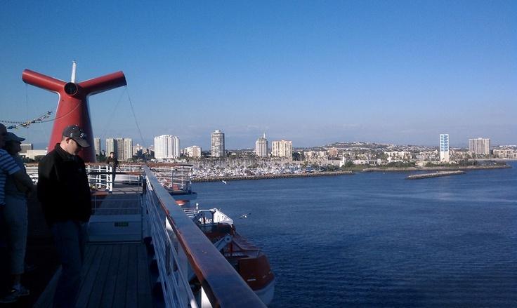 Long Beach CA - On A Cruise Ship