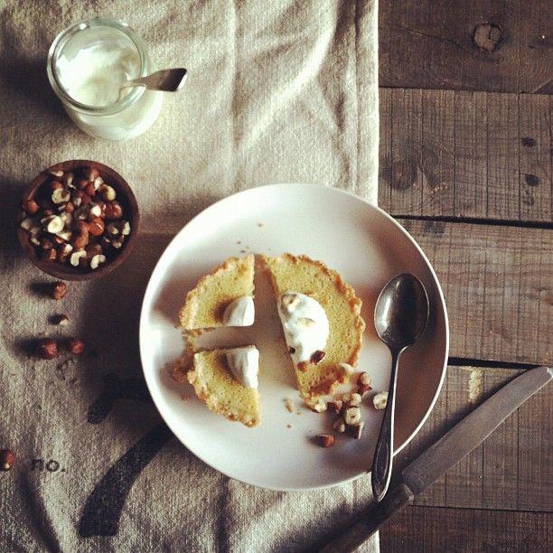 maple buttermilk hazelnut tart | desserts | Pinterest