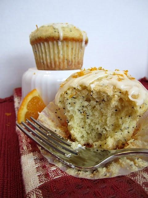 orange poppy seed muffins | Recipe Box | Pinterest