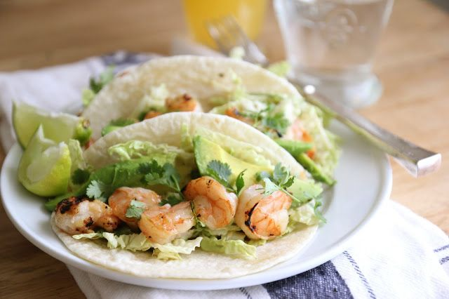 Easy Grilled Shrimp Tacos by Everyday Occasions by Jenny Steffens ...