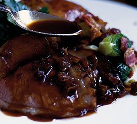 Mushroom and Red Wine Reduction. Sauce is best for Steak, beef and ...