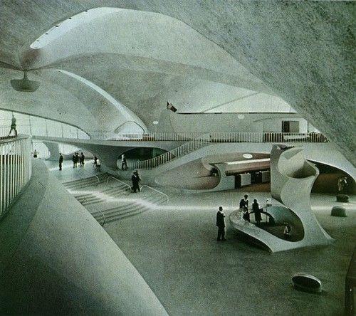 TWA Terminal, Eero Saarinen