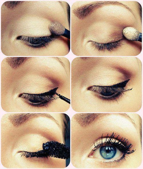 C mo maquillarse los ojos paso a paso maquillaje pinterest - Como maquillarse paso apaso ...