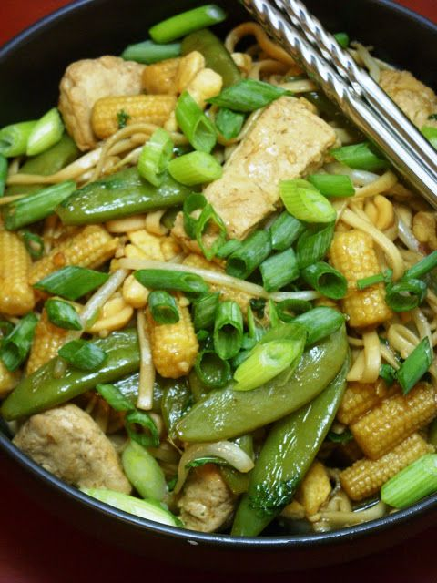 vegan pad thai | Exercis | Pinterest