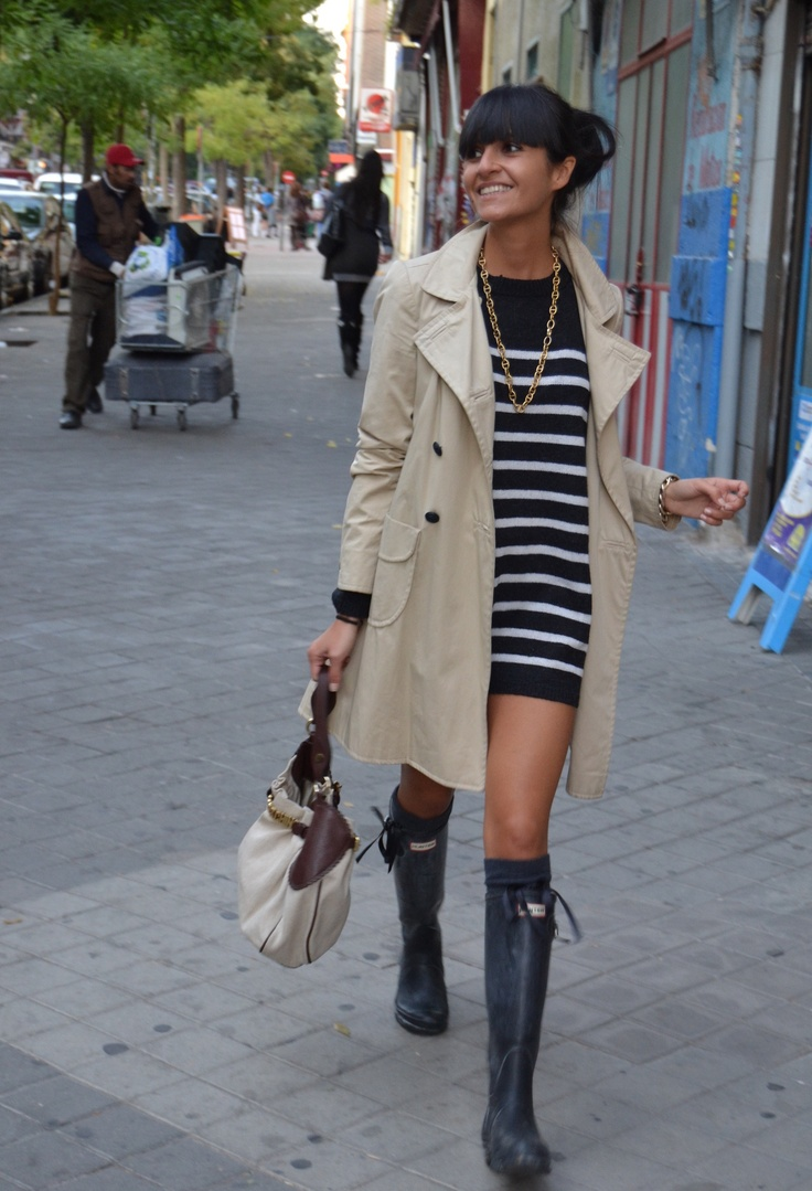 Love This Whole Outfit Hunter Boots Pinterest