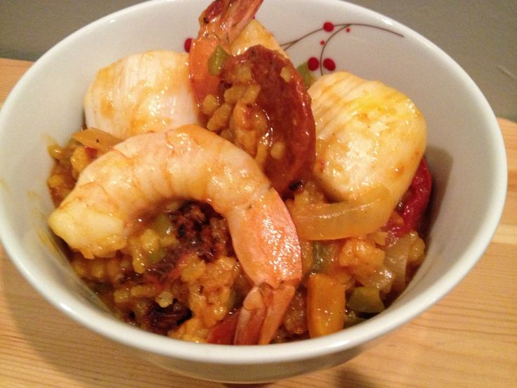 Shrimp and Scallop Paella | Breakfast in Bed(Stuy): adventures in my ...