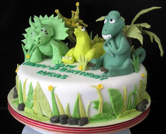 Dinosaur Birthday Cake  Boys Cake Ideas  Pinterest
