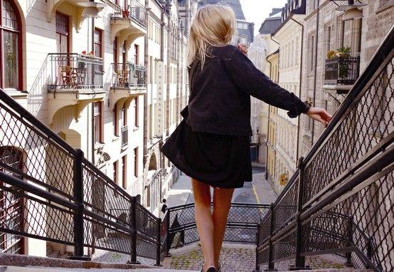 gorgeous street + cool coat