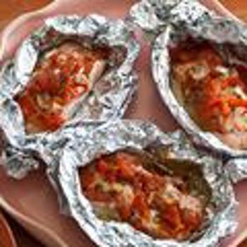 Salmon Baked in Foil Recipe | FooD!!! | Pinterest