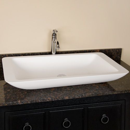 Vessel Trough Sink : trough sink