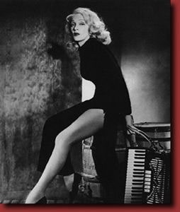 """Marlene Dietrich - Was known for her """"bedroom eyes."""""""