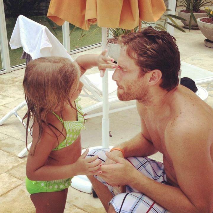 Juan Pablo and his daughter Juan Pablo Daughter