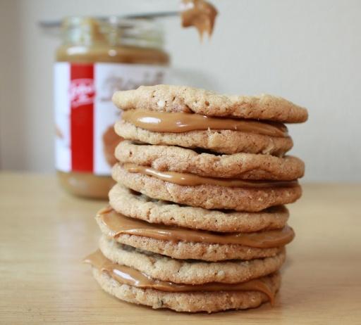 Chewy Biscoff Oatmeal Cookies | cookies | Pinterest