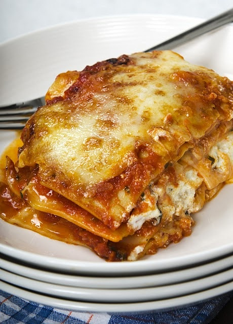 Four Cheese Lasagna | cooking is my hobby | Pinterest