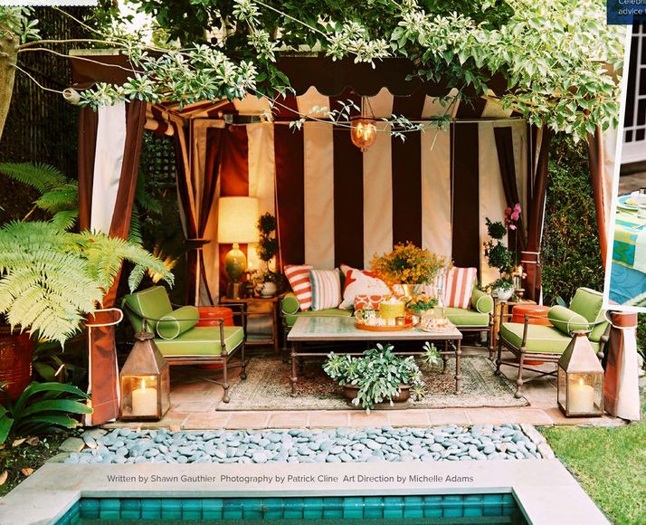 Outdoor Cabana Cool Of Outdoor Cabana Back Yard Picture