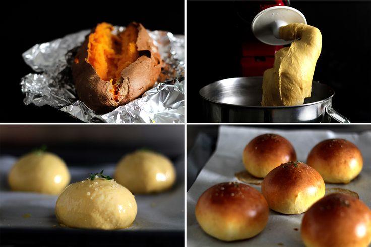 Sweet Potato Buns | Bread & Breakfast | Grub | Pinterest