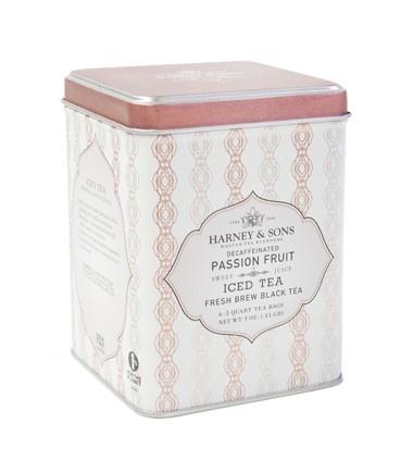 Decaffeinated Passion Fruit Iced Tea. I love this tea. I'll need it ...