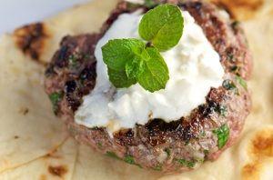 Gyros Burgers Sous Vide #recipes #cooking #sousvide #lamb #burgers