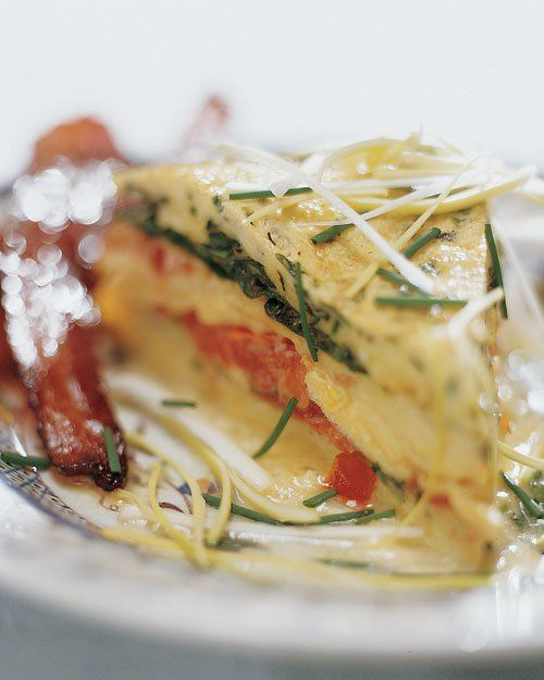 Layered Spring Omelet from Martha Stewart