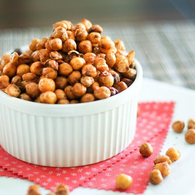 Roasted Chickpeas-8 | Healthy Snacks | Pinterest