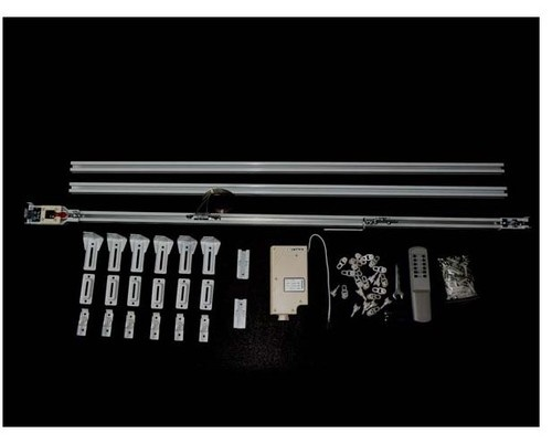 IR Remote control Curtain Track System 13 ft. modern accessories and ...