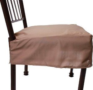 Amazon.com   Everyday Elegance Kitchen & Dining Chair Covers (Creamy