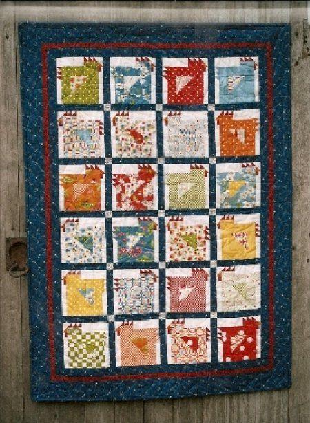 Little Chicks Wall Quilt Pattern Chicken stuff Pinterest