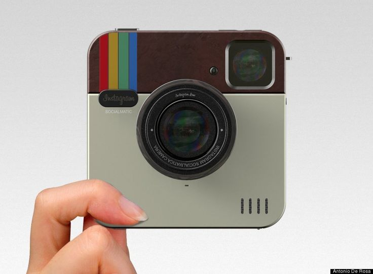 Instagram Socialmatic Camera: The App comes to life.