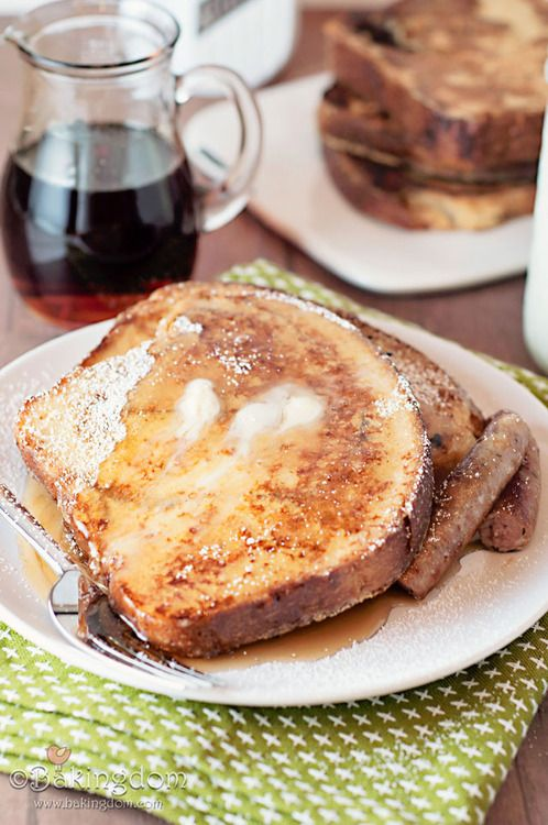 cinnamon swirl french toast. | Favorite Recipes | Pinterest