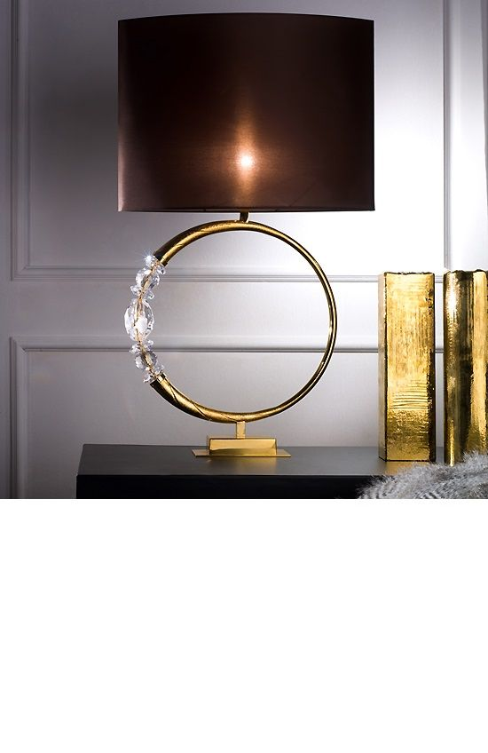 Pin by the vip room design studio on lighting pinterest Designer table lamps to light up your home with luxury