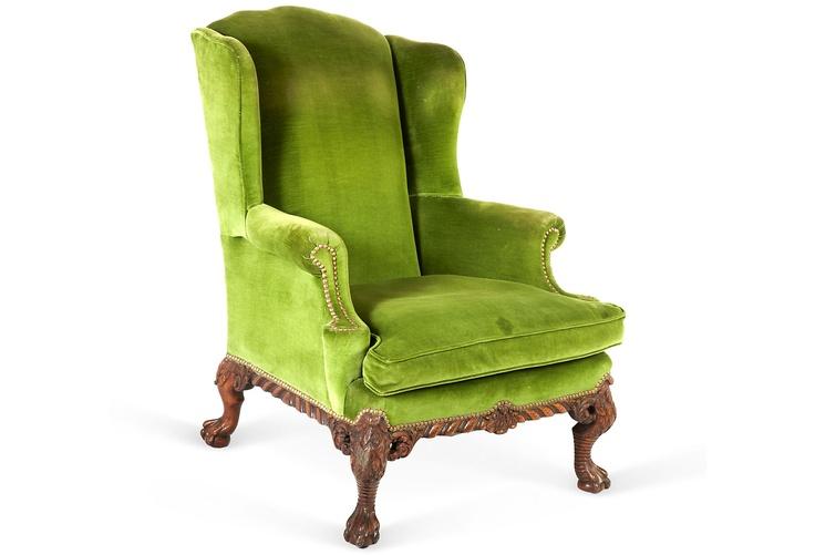 George II-Style Wingback Chair  $1,899.00