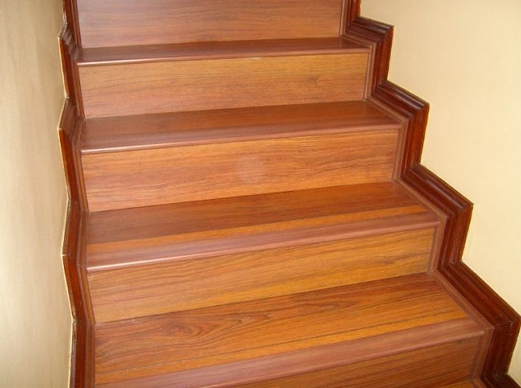 Laminate Flooring Stair Treads Image
