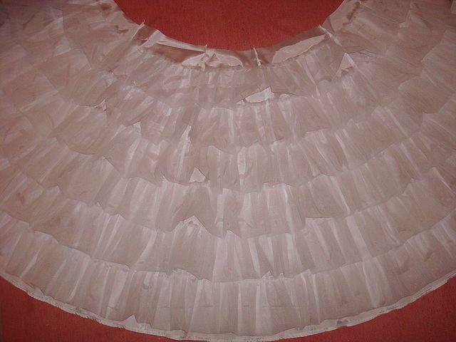 Как сделать пышную юбку для платья