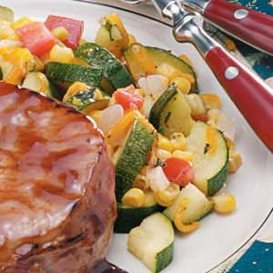 Corn Zucchini Saute. My recipe is very similar to this one. I add a ...
