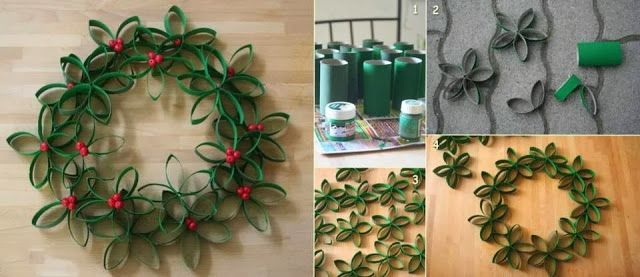 Do it yourself christmas decor tutorials spreading for Christmas decorations to make yourself